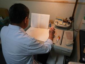 画像: 検査室の一日6