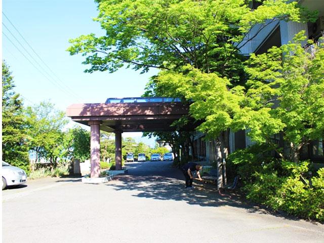 画像:当院の風景 病院の四季2